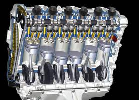 bmwK1600R Engine
